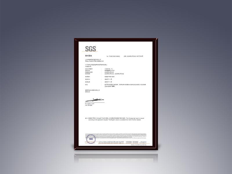 SGS检测报告(一)