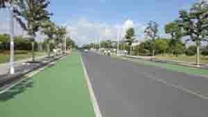市政透水道路