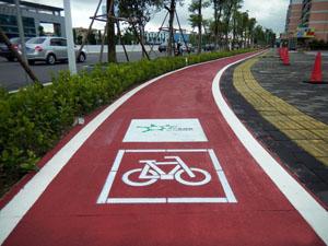透水自行车道