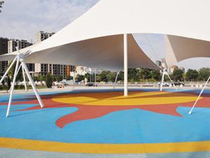 城市广场透水地坪